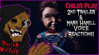 Dr. Wolfula - Child's Play (2019) 2nd Trailer Reactions!