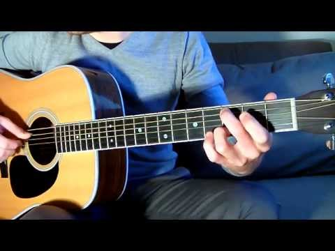 One Direction Little Things FREE TAB Guitar Lesson Easy Slow Example Chords