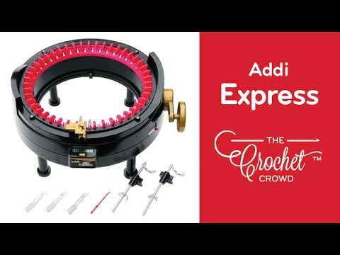 How To Knit Flat Panels on Addi Express