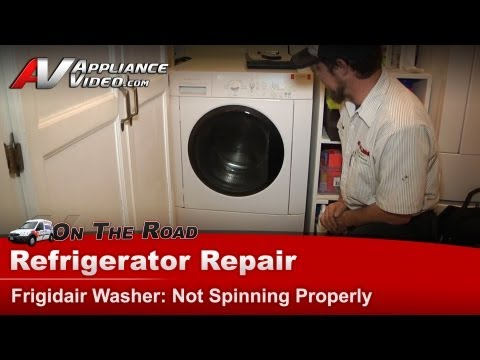 Washer Repair & Diagnostic - Not Spinning Properly - Frigidaire.Electrolux FTF2140ES0