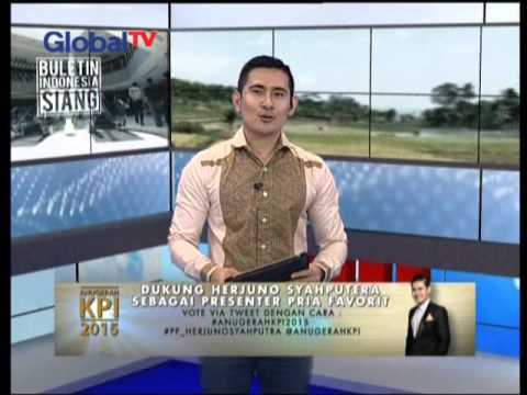 Dukung Herjuno Syaputra Sebagai Presenter Pria Favorit Di Anugerah KPI 2015 - BIS 19/11