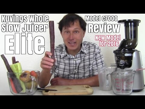 Kuvings Whole Slow Juicer Elite C7000 Reviews : uploaded by rawfoods