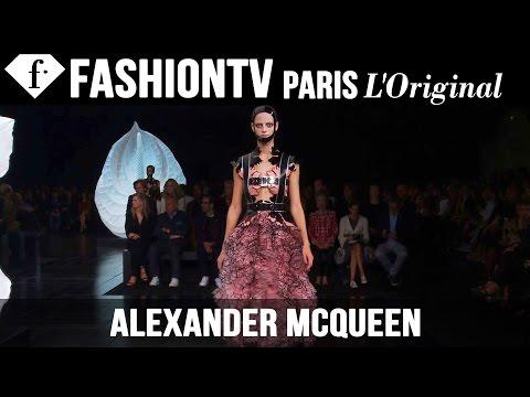 Alexander McQueen Spring/Summer 2015 | Paris Fashion Week PFW | FashionTV
