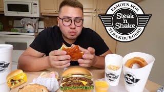 Steak N Shake MUKBANG