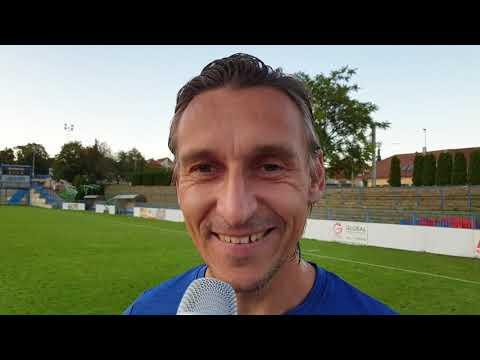 Asistent Ondřej Prášil hodnotí výhru v MOL Cupu nad Admirou