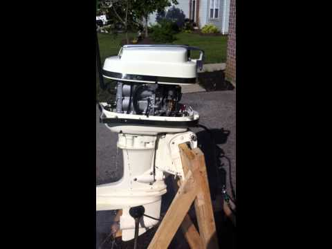 952 Kiekhaefer Mercury 16 hp Mark 20 Two Stroke Outboard Motor