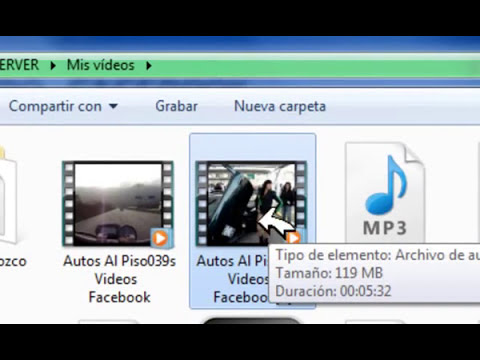 como descargar videos de facebook en varios formatos