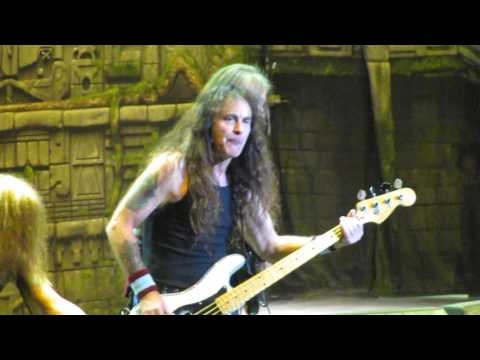Iron Maiden - Speed of Light live @ LeSports Center, Beijing, China - 24th April 2016