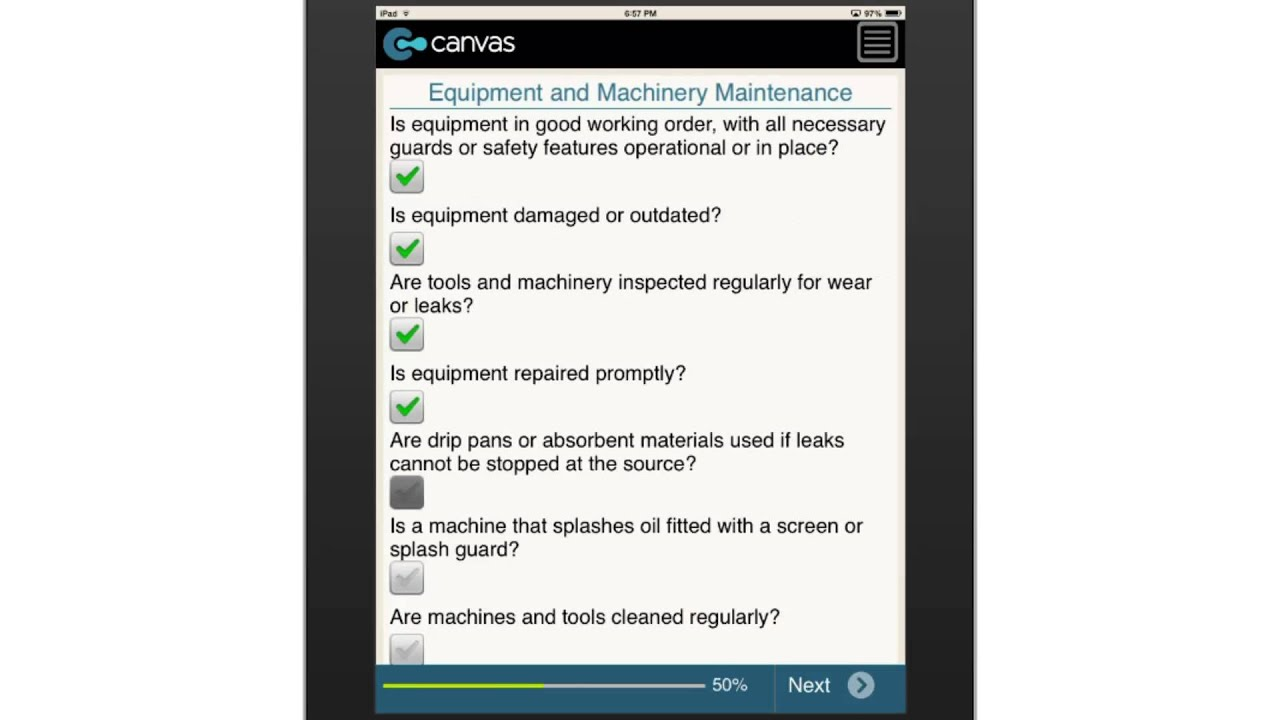 Workplace Housekeeping Inspection Checklist Canada Youtube