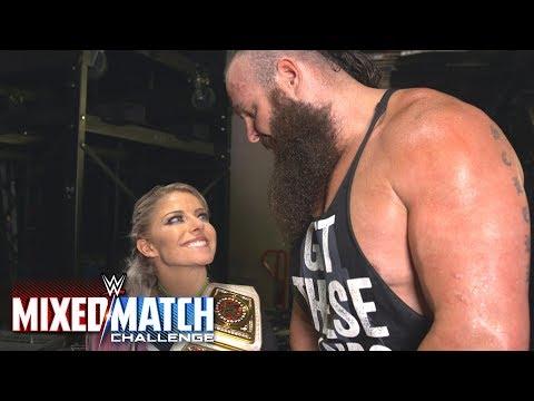 Braun Strowman attempts to kiss Alexa Bliss on WWE MMC thumbnail