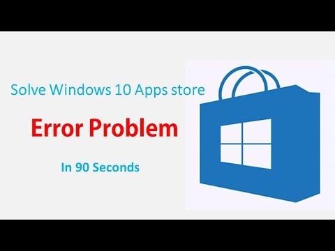 How To Fix Windows 10 Store App Download Problem 2017 In 90 Seconds | Windows 10 | Fix error Problem
