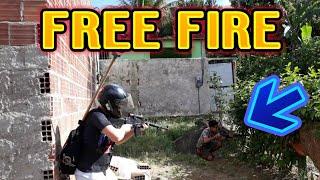 FREE FIRE VIDA REAL
