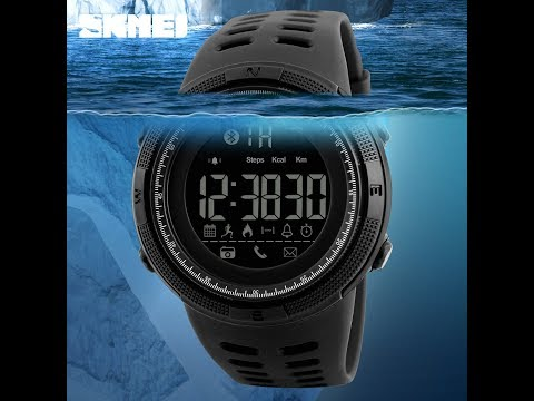SmartWatch New SKMEI Brand Bluetooth Calorie Pedometer Fashion Watches 50M Waterproof Sport Watch