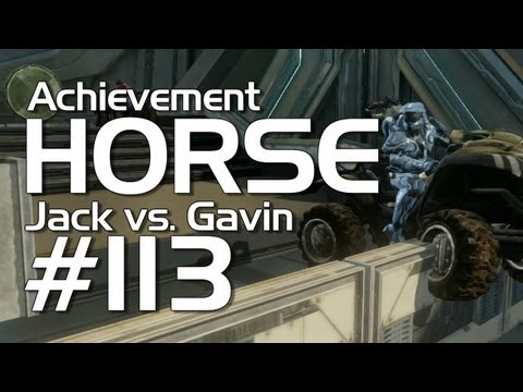 Halo 4 - Achievement HORSE #113 (Jack vs. Gavin)