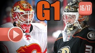 Anaheim Ducks vs Calgary Flames. 2017 NHL Playoffs. Round 1. Game 1. 04.13.2017 (HD)