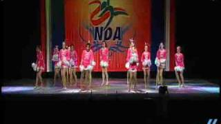 NDA Nationals 2009: Collierville HS- Med. Varsity Pom 5th place