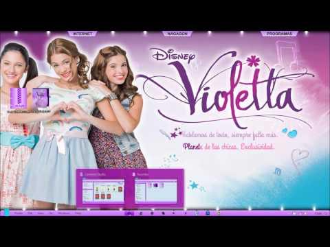 046- Violetta: Pack de Personalizacion Win 7