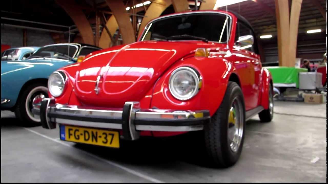 Volkswagen Beetle Ratings >> 1978 vw beetle 1303 1 6 fuel injection pt1 @ brunssum 2012 VW Aircooled Indoor Show - YouTube