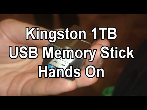 Kingston 1TB USB Stick im Kurztest