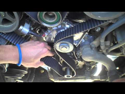3.4L V6 5vz-fe Timing Belt and Water Pump Ep 4