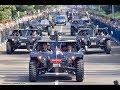 KEREN.!!! Hadiri Rapim TNI/Polri, Jokowi Naik Jip Tempur MP3