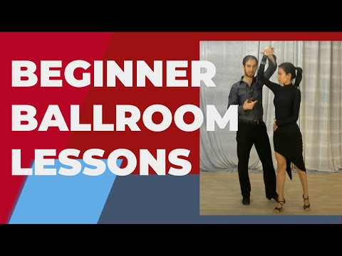 Ballroom Dancing Lessons For Beginners - Hold And Connecting To Your Partner video