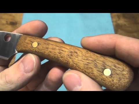 Homemade Knife from Sawblade