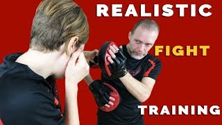How To Train To Fight—Realistic Boxing Training—Core JKD