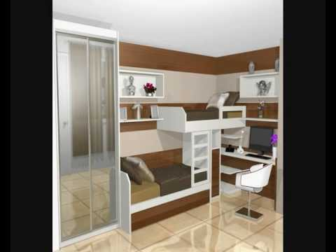 Armarios quartos planejados