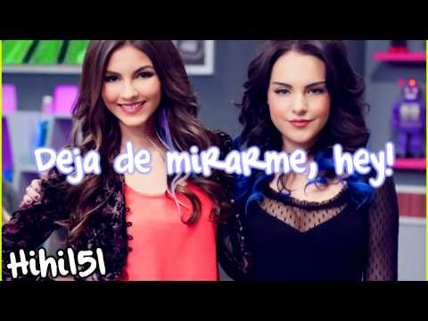 Victoria Justice & Liz Gillies [Victorious] - Take a Hint {Español}