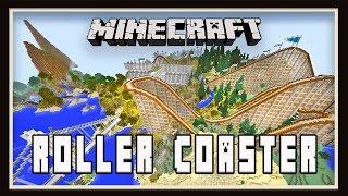 Minecraft: Underground City Show Scene Design    (Scarland Roller Coaster Build Ep.38)