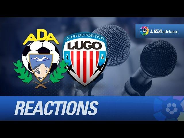 Rueda de prensa de Setién tras el AD Alcorcón (1-0) CD Lugo - HD