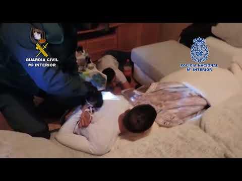 Operación policial en Puertollano, Almagro, Calzada y Argamasilla
