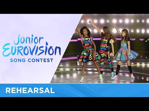 Kisses - Kisses and Dancin' - The Netherlands - First Rehearsal - Junior Eurovision 2016