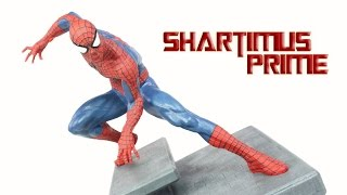 Diamond Select Spider-Man 7 Inch The Amazing Spider Man 2 Movie Statue Review