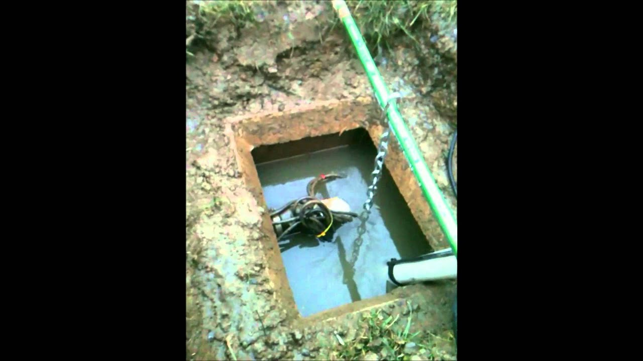 Replacement Of A Sewage Pump Youtube