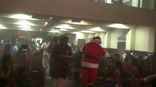 Santa Has arrived @  Thiruvalla Association of Dallas