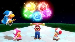 Super Mario Party - Challenge Road - All Worlds