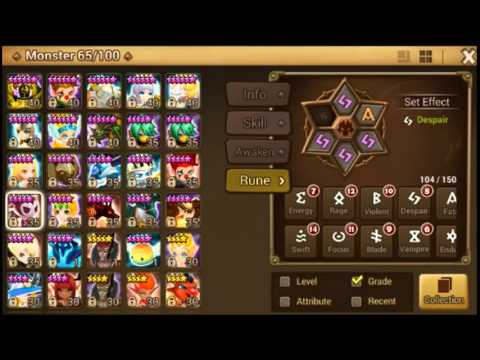 War Bear Summoners War Summoners War Toa Stage 100