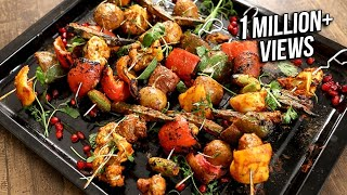 Tandoori Vegetables - Indian Starter Recipe - The Bombay Chef - Varun Inamdar