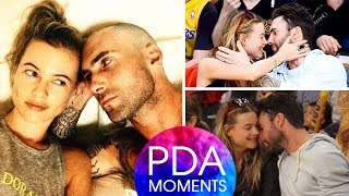 Adam Levine and Wife Behati Prinsloo Romantic and Hottest PDA Moments 2018