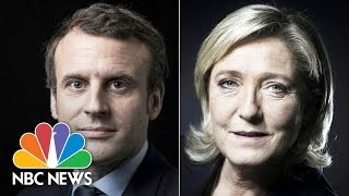 Marine Le Pen, Emmanuel Macron Triumph In First Round Of French Election | NBC News