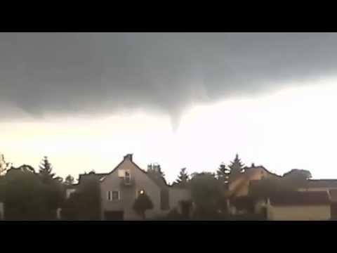 Trąba Powietrzna - Lubelskie 17.05.2014