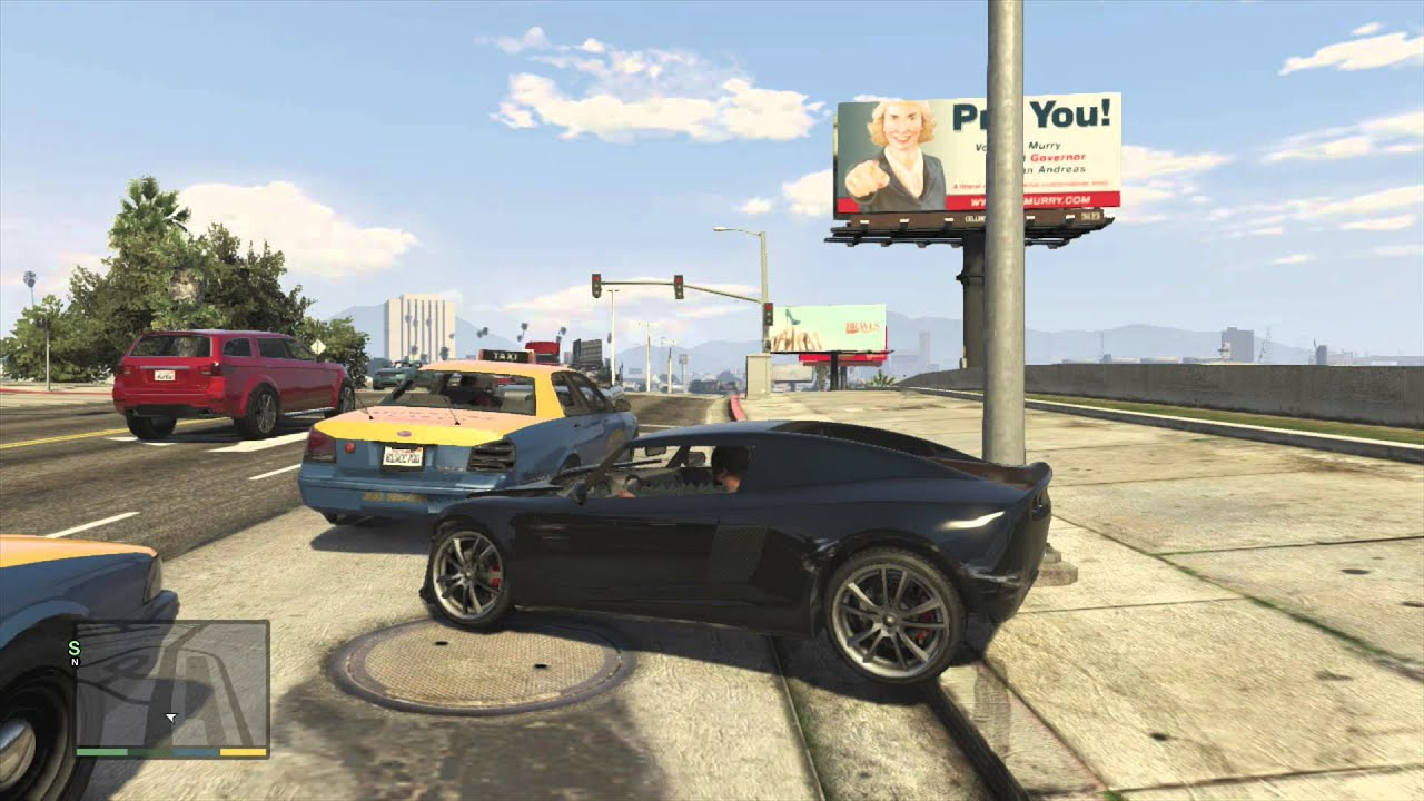 how to get to free roam in gta 5