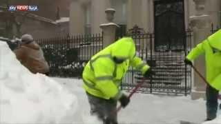 البرد يقتل عشرات الأميركيين خلال شهر