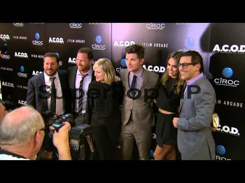 Adam Scott, Jessica Alba, Amy Poehler at A.C.O.D. Los Ang...