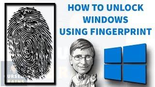 How To Unlock Any Windows With Fingerprint | Android Windows Unlock | Easy Way