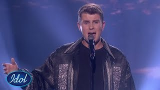 Øystein tar dommerne med storm - My Way av Frank Sinatra | Idol Norge 2018