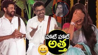 Hero Venkatesh Fun On Actress Pragathi about her Character in F2 Movie | Tamanna | Filmylooks