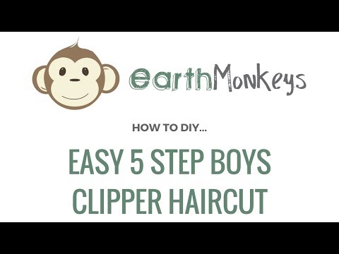 Easy 5 Step Boys Clipper Haircut